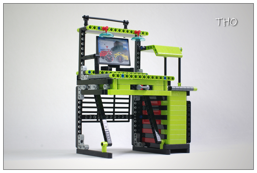 【THO Moc】科技桌子、椅子