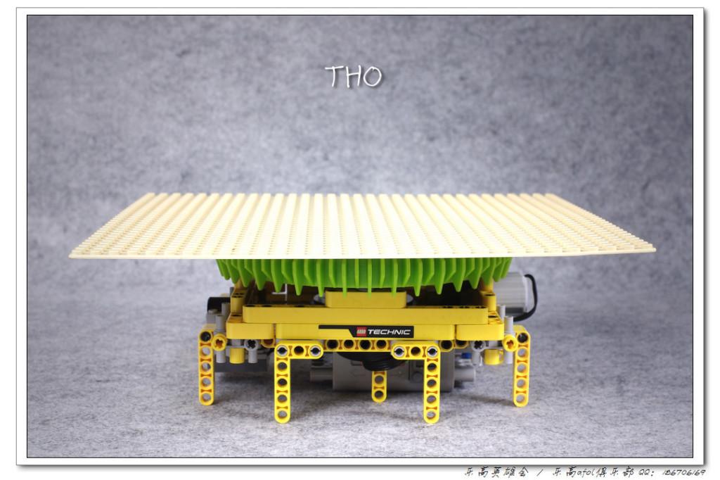 【THO Moc】电动遥控旋转展示台