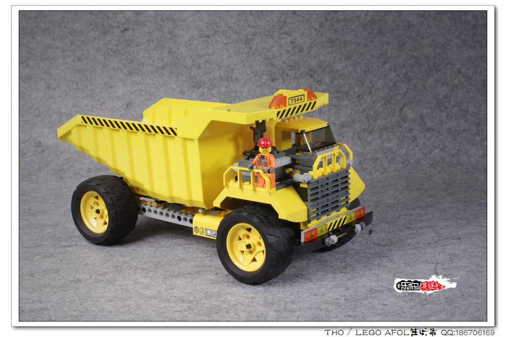 【THO品鉴】乐高 lego 装轮子的大卡车之7344图赏