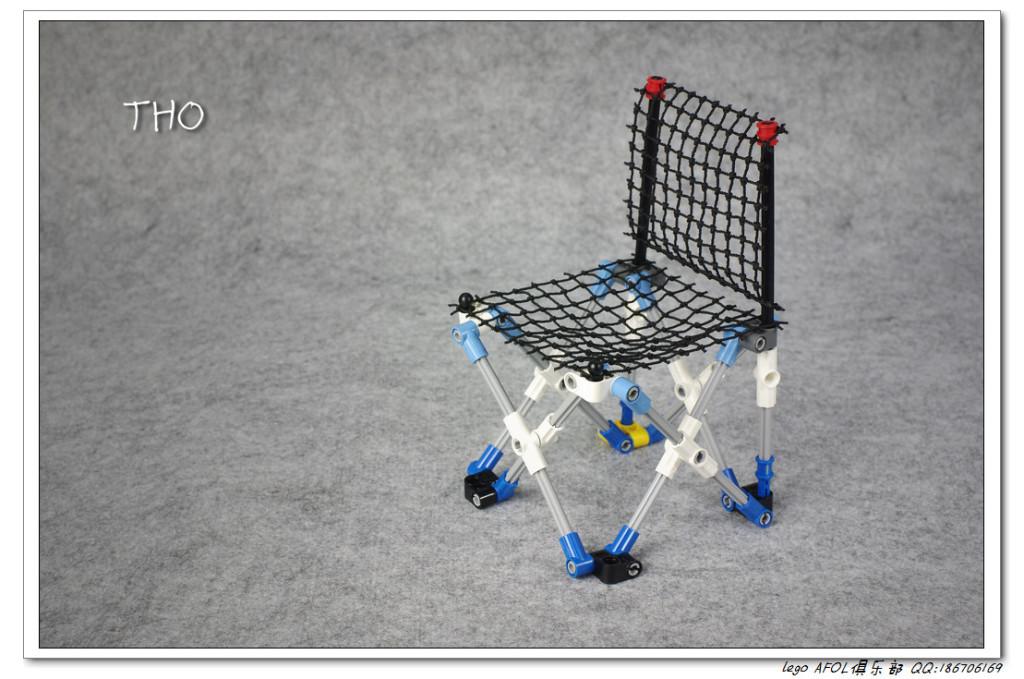 【THO Moc】参观世博会的利器—-折叠椅