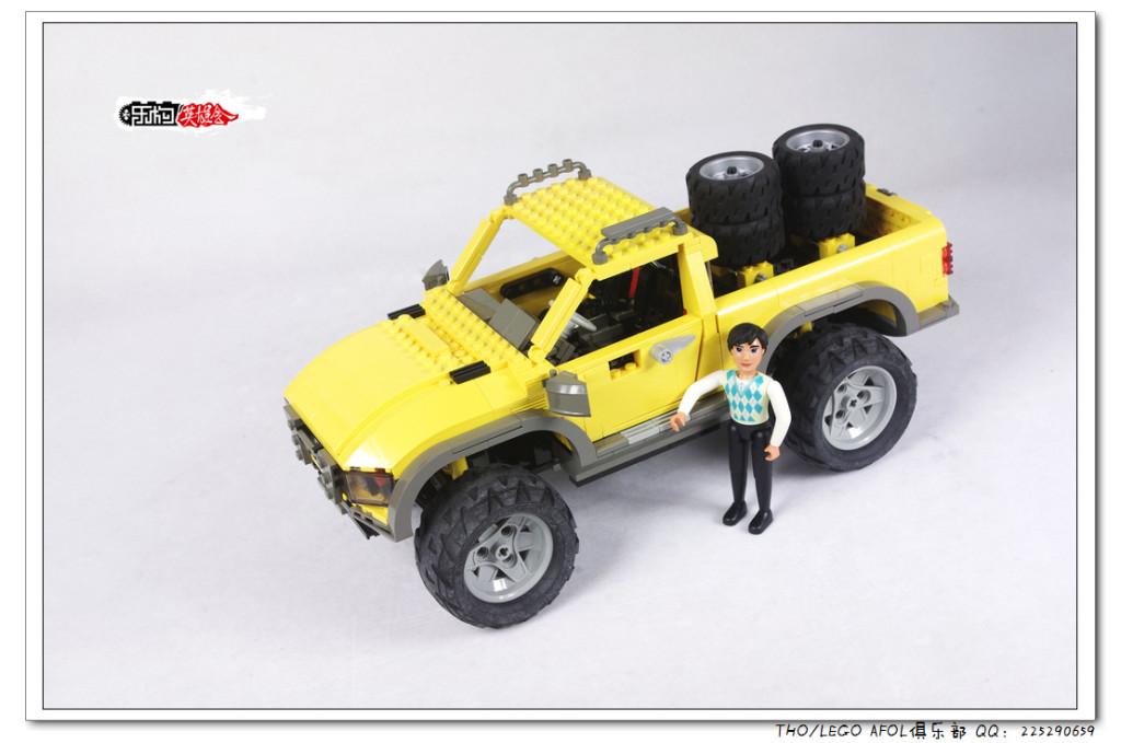 【THO评鉴】乐高 lego 4404 Land Busters 越野皮卡