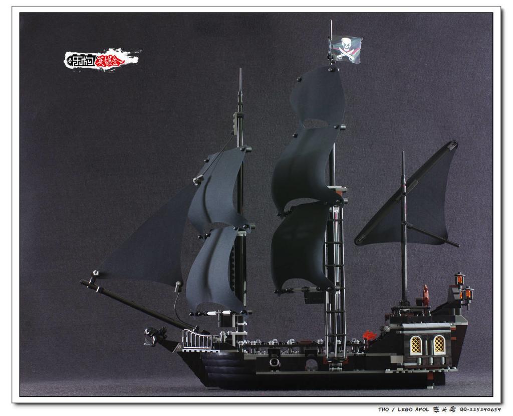 【THO品鉴】乐高 lego 4184 黑珍珠 无人仔评鉴