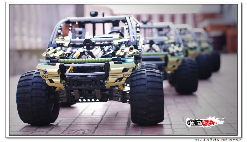 【THO评鉴】乐高 lego 8466 4×4越野车