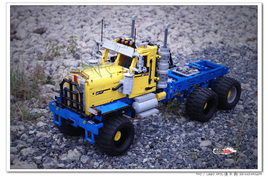 【THO moc】乐高 lego 肯沃驰 C500系列卡车头
