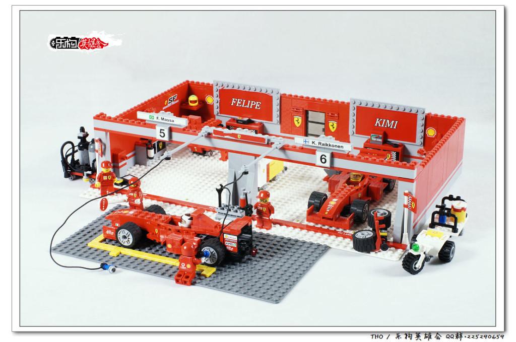 【THO评鉴】8144-2 Ferrari 248 F1 Team (Kimi Räikkönen Edition)