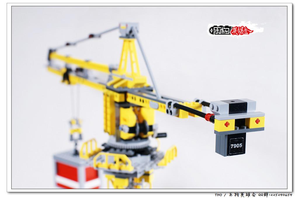 【THO评鉴】乐高 lego 7905 Building Crane 大型塔吊