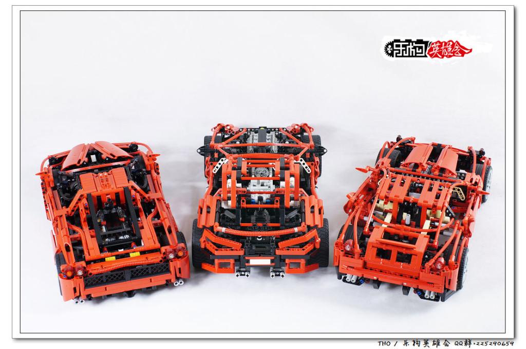 【THO图赏】乐高 lego 8070 8145 8448 8653 合集