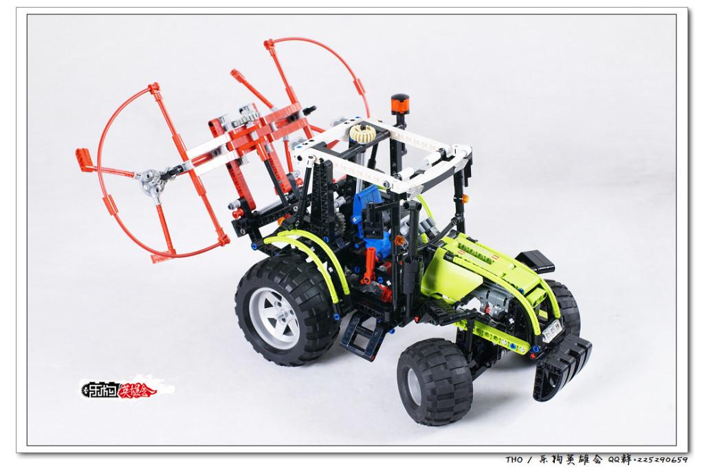 【THO】将山寨进行到底之 乐高 lego 8284 大拖拉机