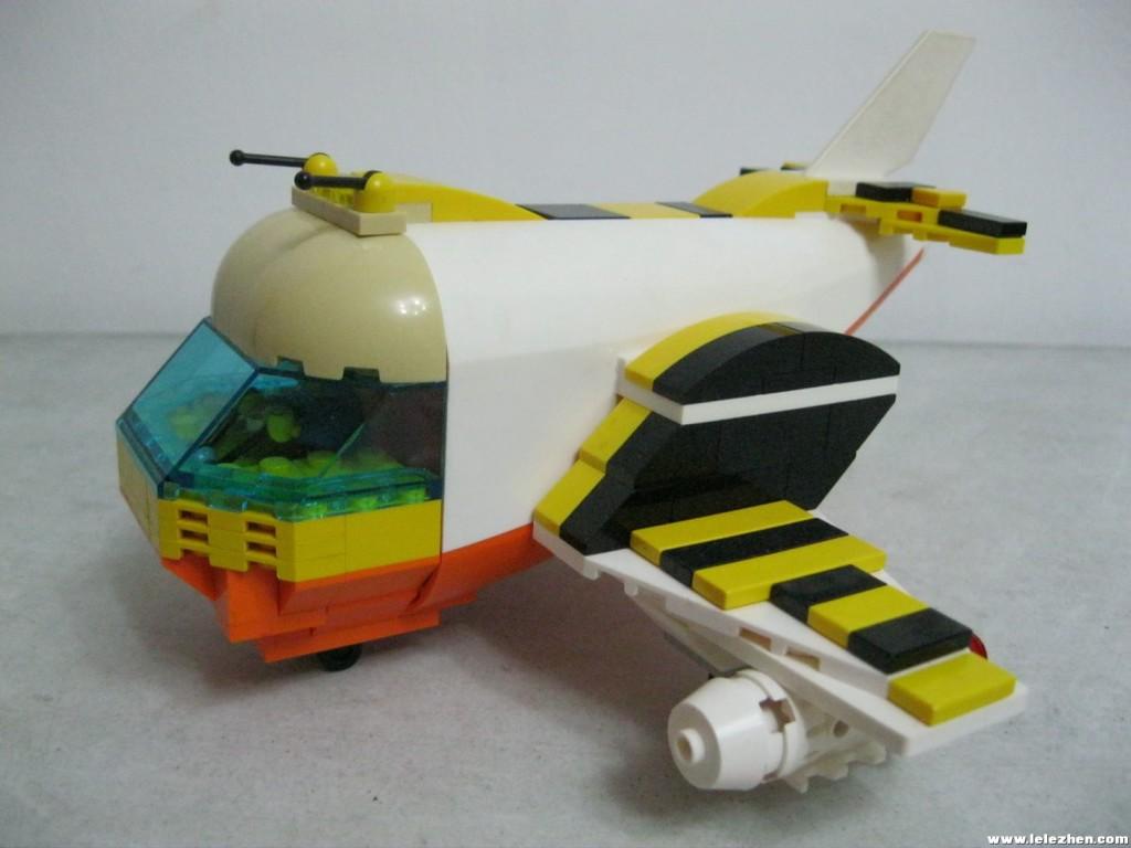 【榕榕的MOC】小蜜蜂飞机