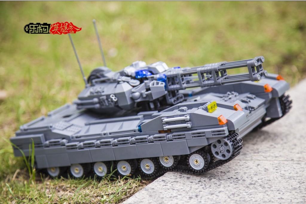 楚沐猴作品12号-暗影主战坦克