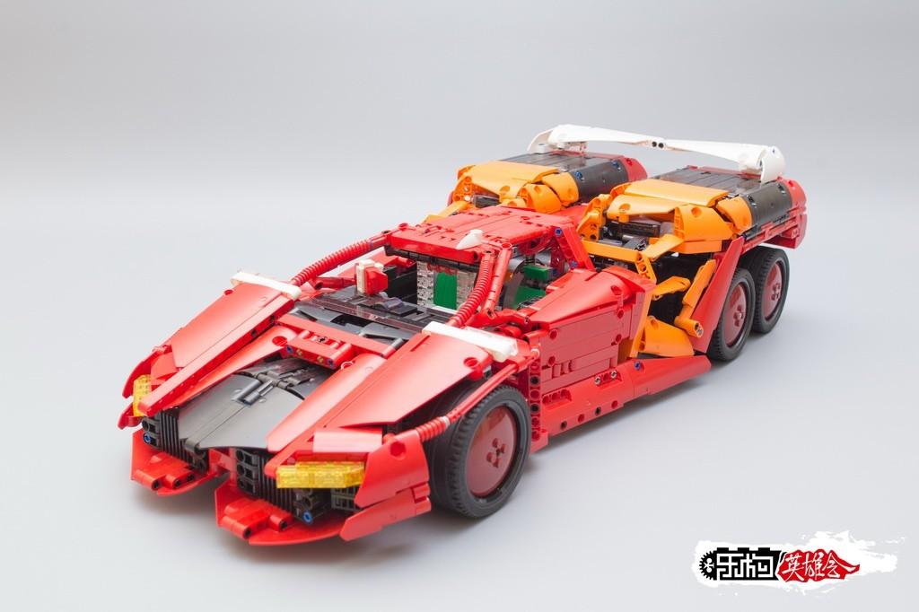 【YYSMOC】高智能方程式赛车Fire Sperion G.T.R