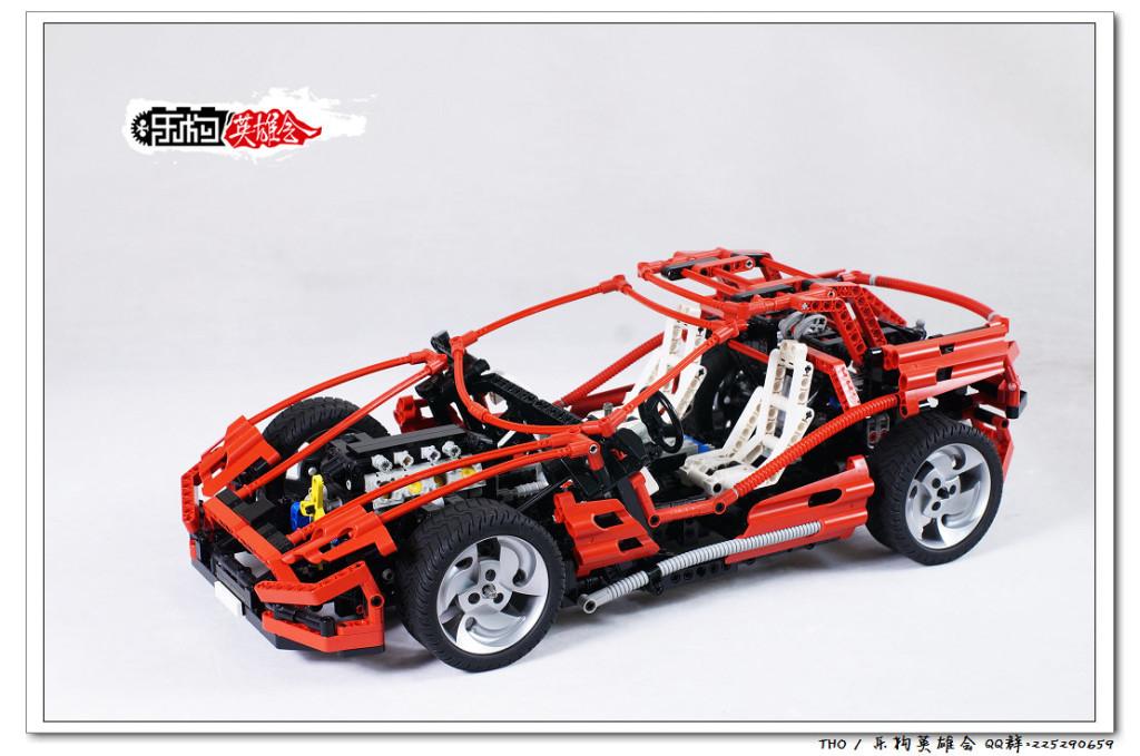 【THO评鉴】乐高 lego 8448 超级跑车
