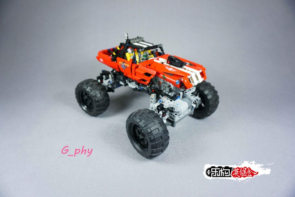 [G-MOC] lego 攀爬车 赤色彗星