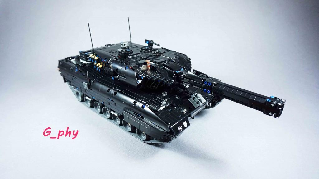 [G-MOC] 豹2A6 乐高坦克