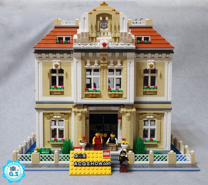 【GS的MOC】欧式别墅