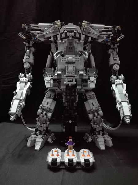 【2016机甲MOC比赛】黑客帝国 Matrix APU武装机甲