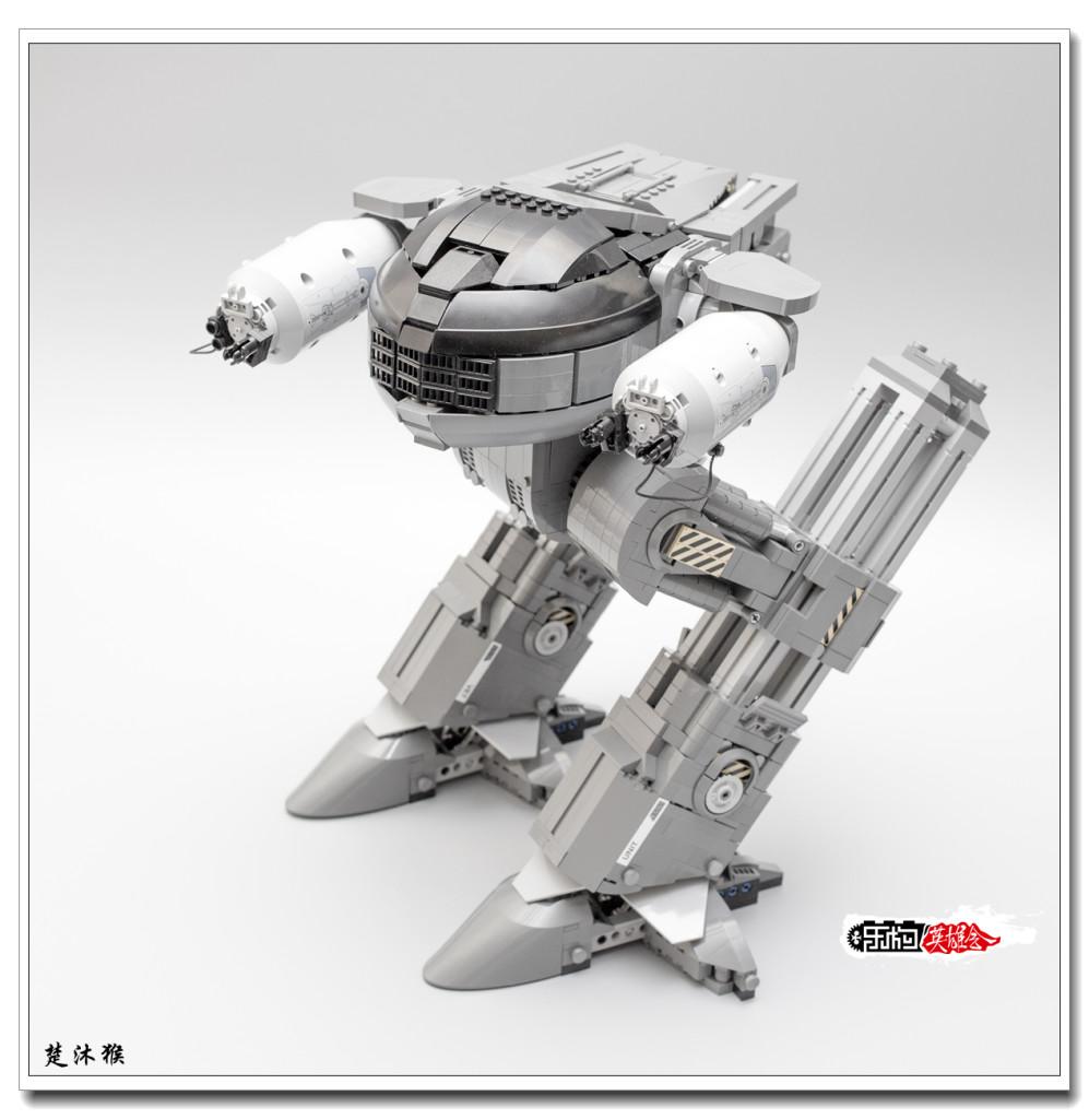 【2016机甲MOC比赛】机械战警ED209