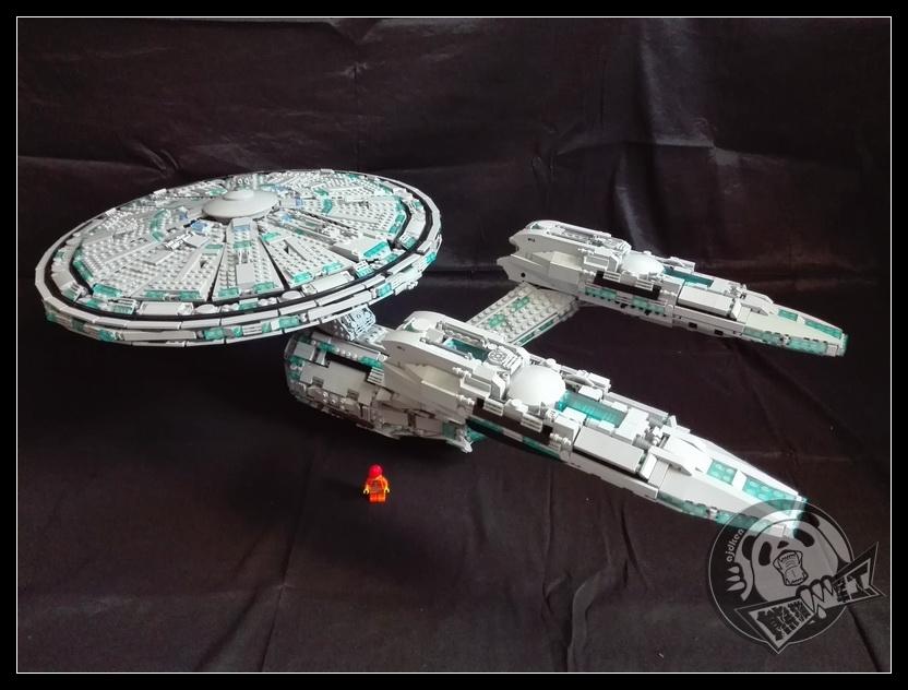 【战舰魂】《星际迷航》星舰企业号——U.S.S. Enterprise