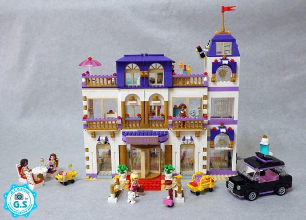 【GS品鉴】LEGO乐高 41101女孩系列-心湖城大酒店