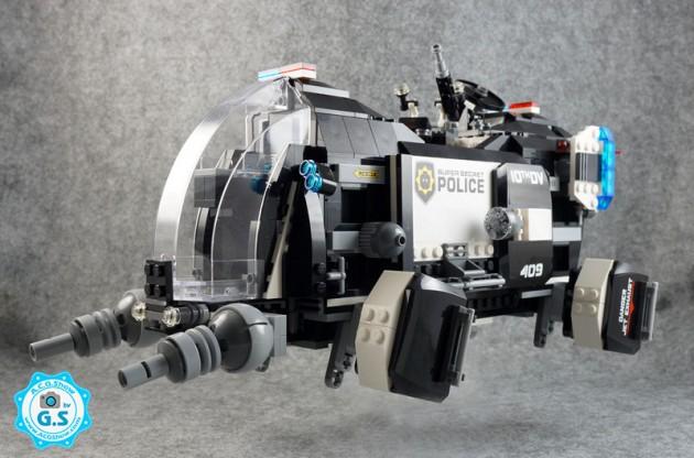 【GS品鉴】LEGO乐高 大电影系列70815-超级秘密警察运输机
