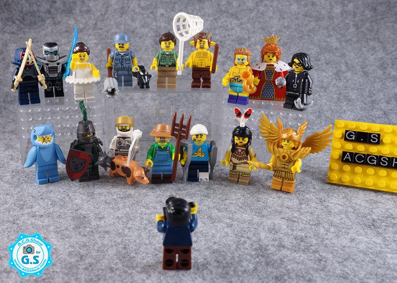 【GS品鉴】LEGO乐高71011 人仔抽抽乐第15季