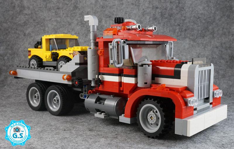 【GS品鉴】LEGO乐高7347创意三合一 高速公路搭车者