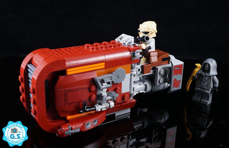 【GS品鉴】LEGO乐高 星球大战系列75099-蕾的飞车