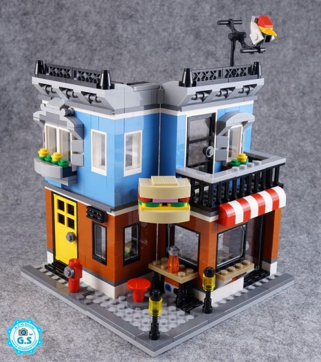 【GS品鉴】LEGO乐高31050创意三合一 街角熟食店