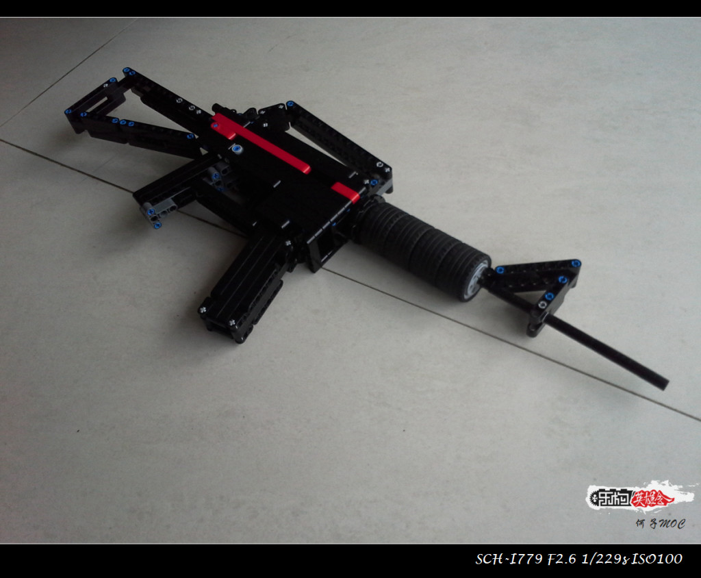 【何子MOC】 M4A1自动步枪