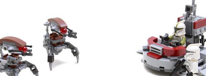 吸引人的新版白兵,造型差的毁灭者:75000 Clone Troopers vs. Droidekas评测