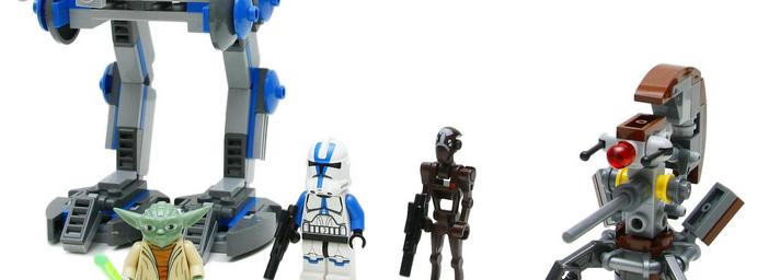 蓝色的精锐,机动化的501兵团载具:75002 AT-RT 评测