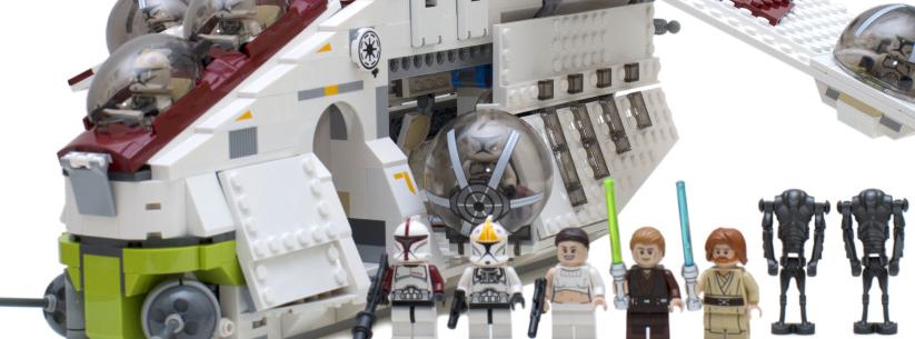 共和国双兽之空兽再袭:75021 Republic Gunship评测