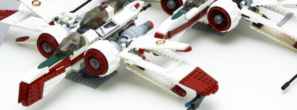 二合一介绍:LEGO ARC-170之8088与7259改