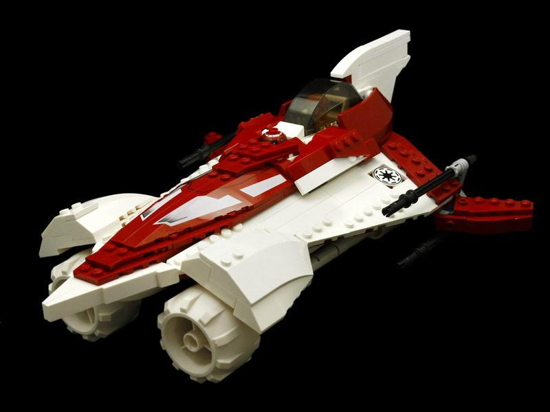 新MOC:颜色不太对的DELTA-7改装版AZURE ANGEL