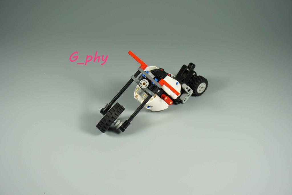 [G-MOC] MINI lego 摩托