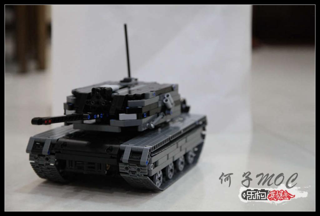 【何子MOC】 CN-39 主战坦克
