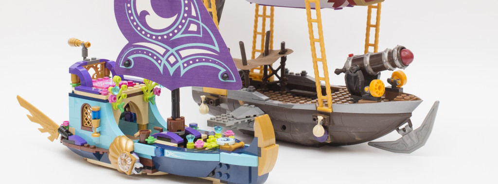 极致华美的水中寻宝:41073 Naida's Epic Adventure Ship 简评