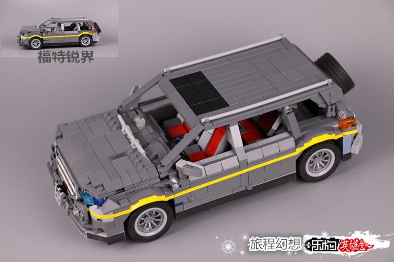 【福特锐界】【旅程幻想8号MOC】福特锐界SUV
