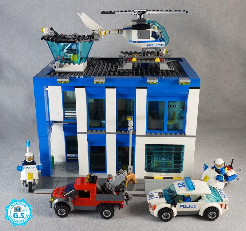 【GS的MOC】60047警察局街景化