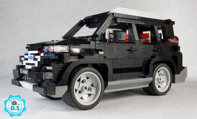 【GS的MOC】福特锐界SUV