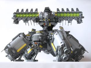 机甲LTW-008 FUGAKU BY Ryuhei Kawai