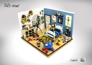 儿童房(kidsroom)by César Soares