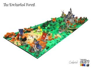 魔法森林(The Enchanted Forest)by César Soares