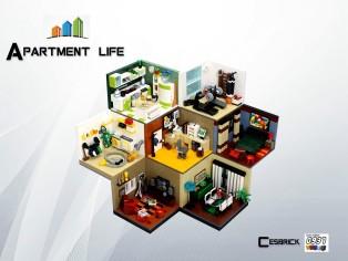 公寓生活(Apartment life )by César Soares