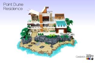 豪华海边别墅(Point Dume Residence )by César Soares