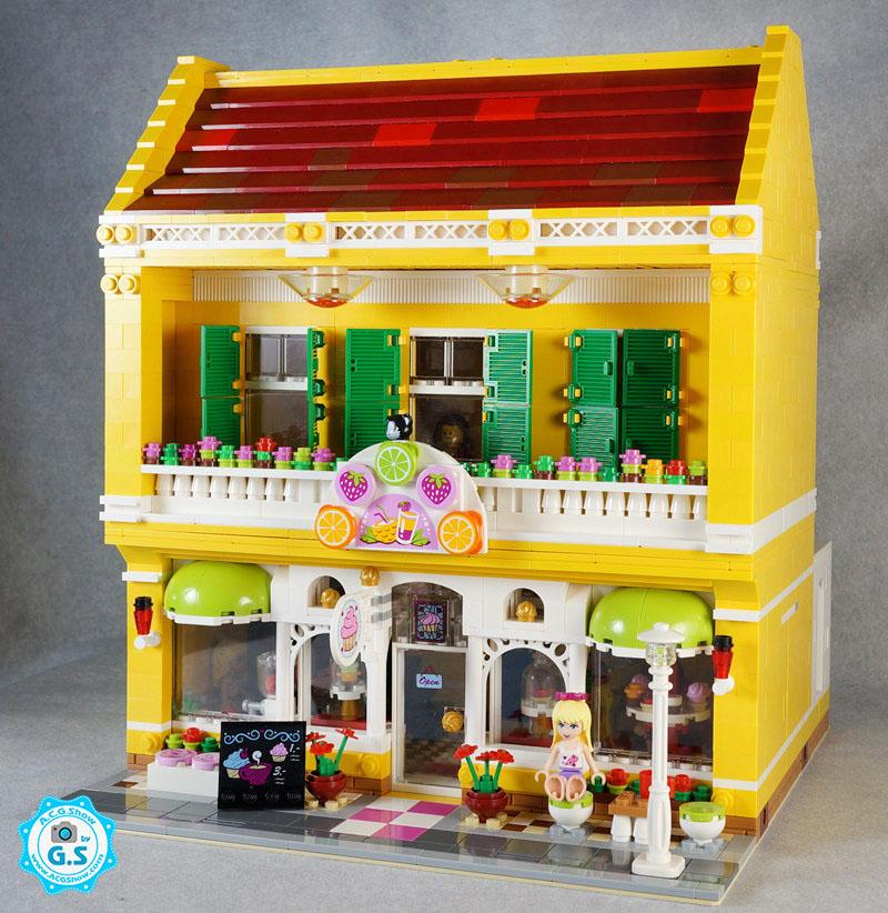 【GS的MOC】心湖纸杯蛋糕果汁店