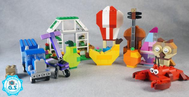 【GS品鉴】LEGO乐高10705 经典创意拼砌箱