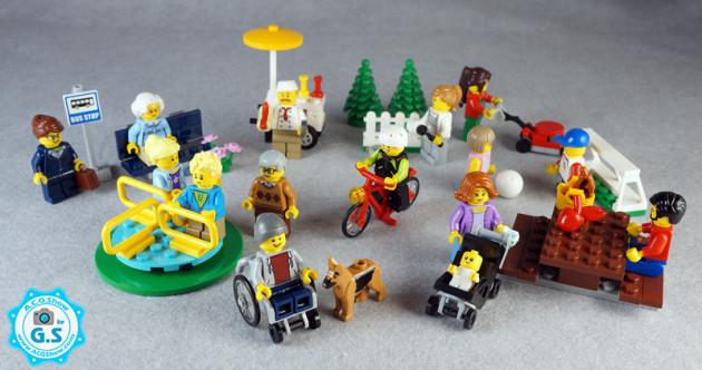 【GS品鉴】LEGO乐高60134城市系列-公园娱乐人仔套装
