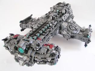 乐高版星际争霸II-海伯利安号(Hyperion) by Sven Junga