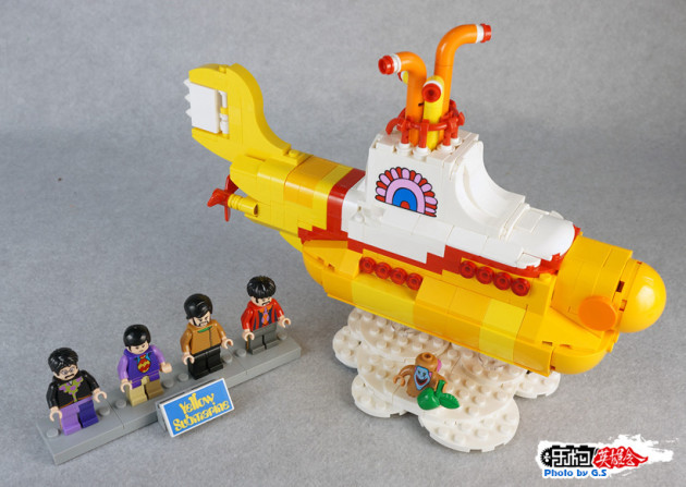 【GS品鉴】LEGO乐高21306 IDEAS系列-披头士黄色潜水艇(乐构英雄会首发)